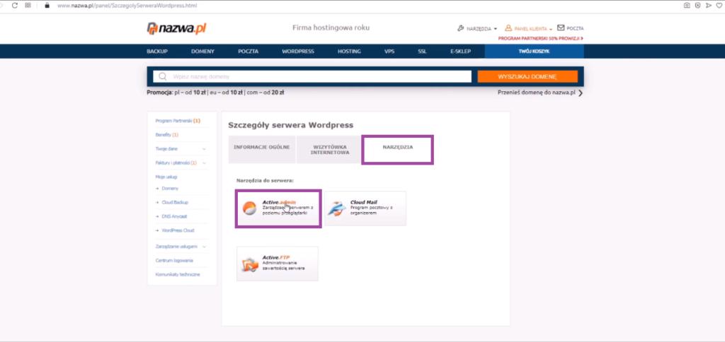 Jak dodać instalację WordPressa w panelu nazwa.pl Ola Dąbrowa